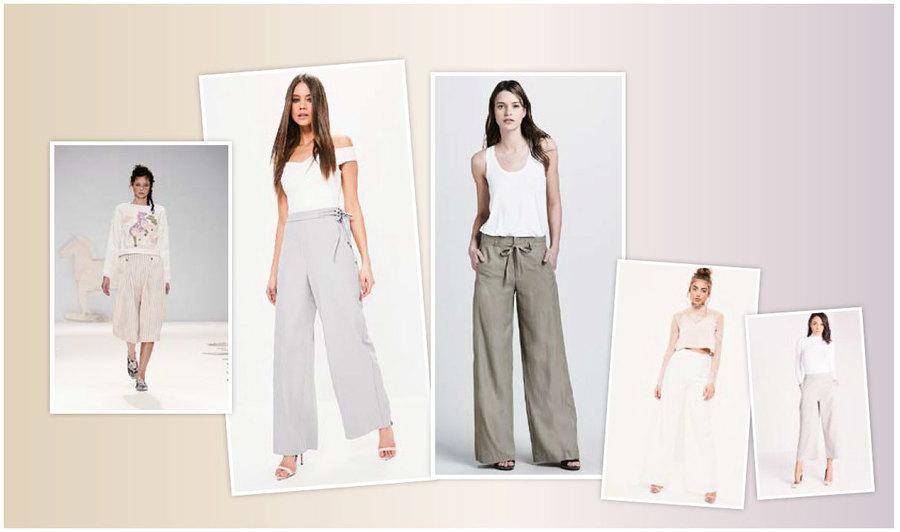 【時尚潮流】闊腳褲 春夏時尚的潮流之選