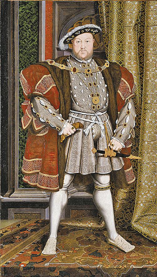 《亨利八世》(Henry VIII) 畫像( 維基百 科)