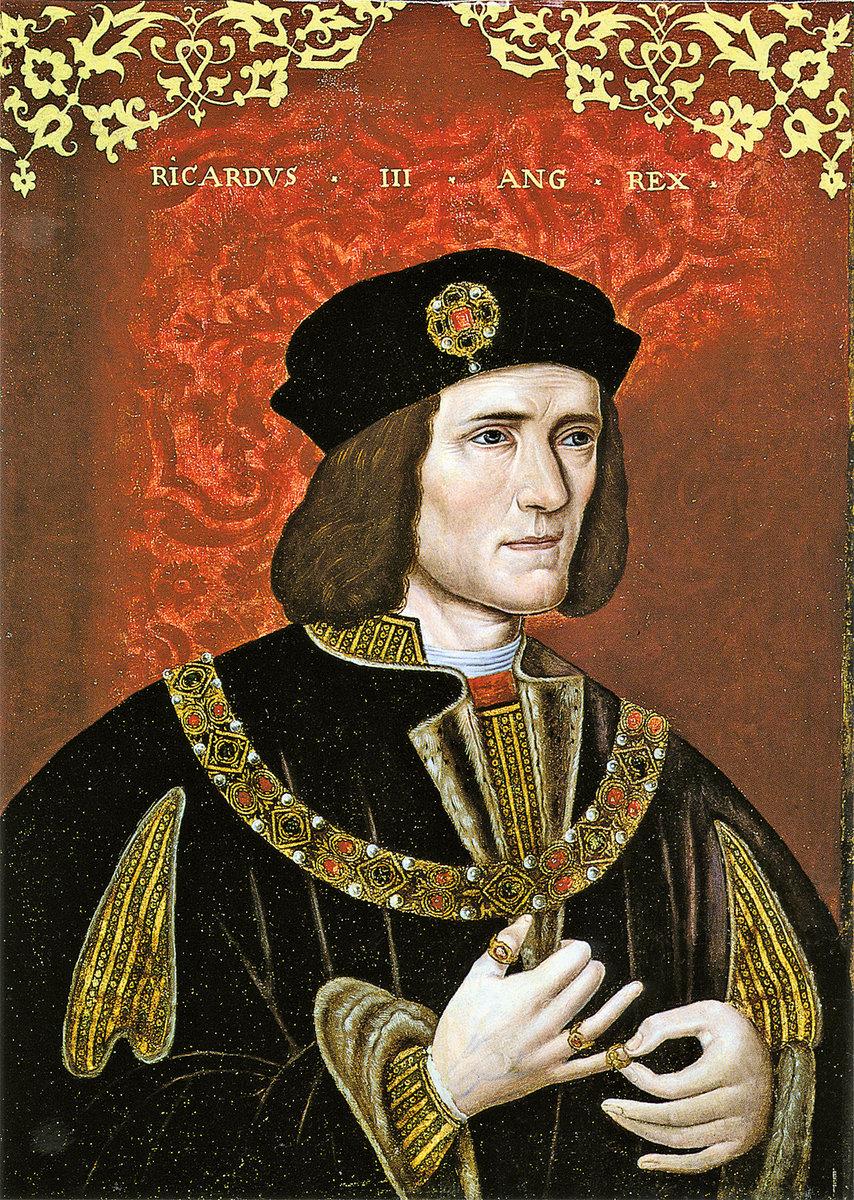 《查理三世》(Richard III) 畫像( 維基百 科)