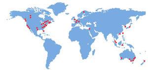 覆蓋5大洲35國   發行最廣報紙