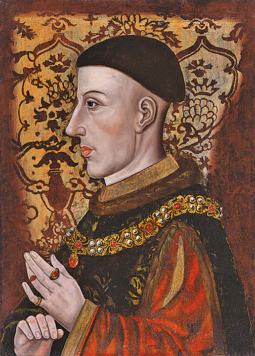 《亨利五世》(Henry V)畫像( 維基百科)