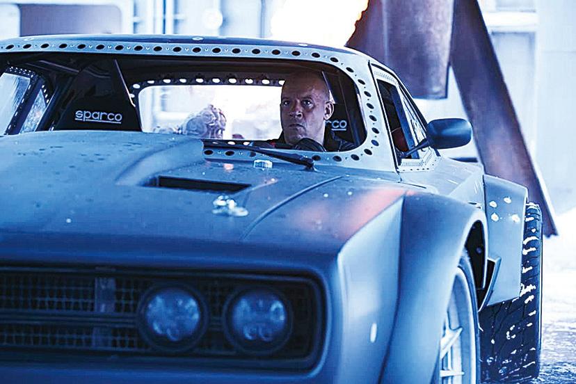 《狂野時速8》劇照。