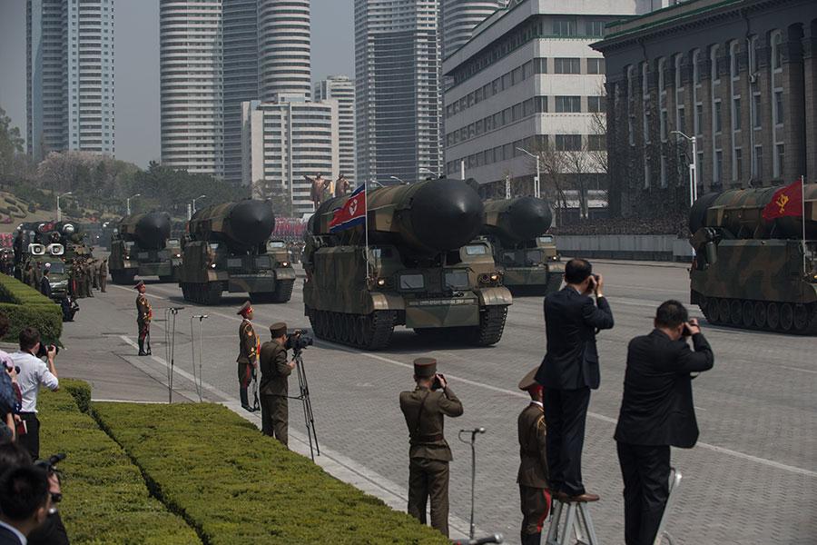 KN-08。(ED JONES/AFP/Getty Images)