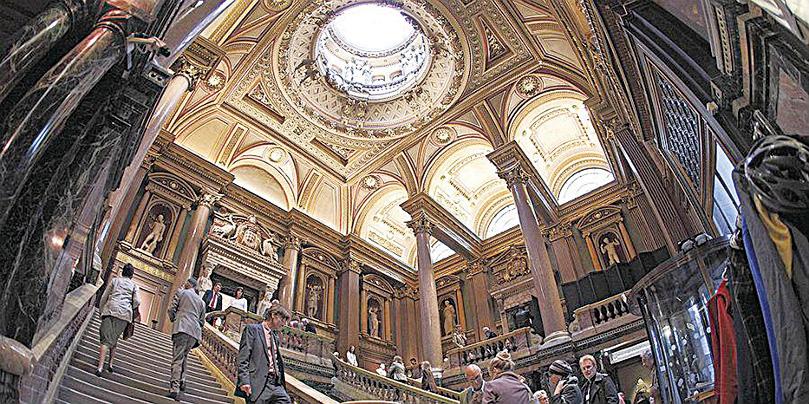 菲茨威廉博物館內部極其奢華,建築本身就是傑作。(劍橋大學)