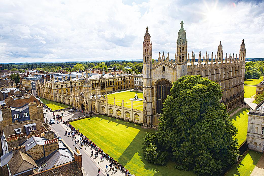 劍橋大學國王學院。 (Konstanttin/depositphotos)