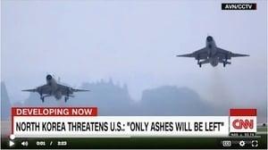 防北韓不測?美:中共大批戰機呈戰備狀態