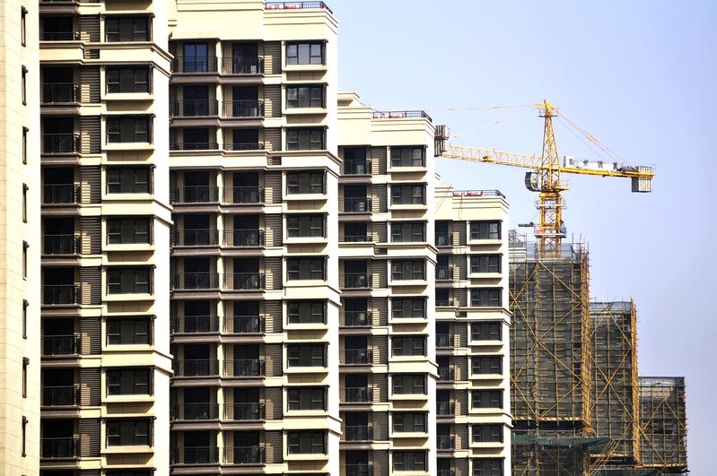 圖為南京市一處新建社區。(大紀元資料室)