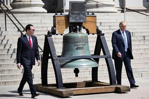 特朗普本周宣佈稅改及減稅