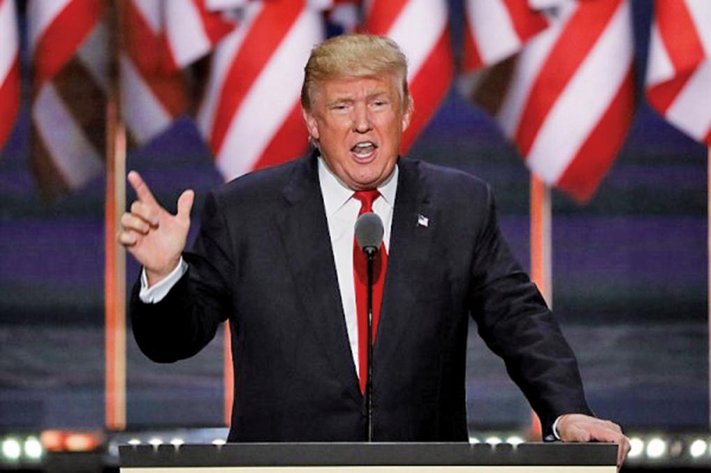 美國總統特朗普承諾大力支持旨在打擊全球人權侵犯者的《全球馬格尼茨基人權問責法》。(Getty Images)