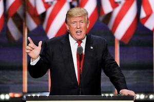 特朗普誓言大力打擊全球人權侵犯者