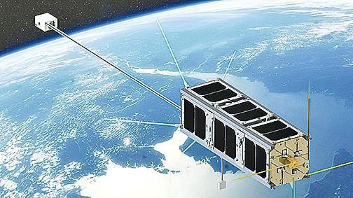 記錄天氣數據 加大學自製衛星升空