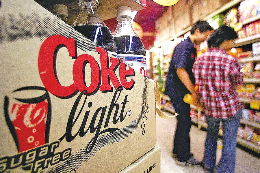 常喝無糖汽水 增中風和痴呆風險