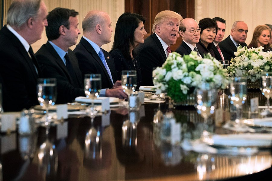 參院全體赴白宮開機密會 眾院聽北韓簡報