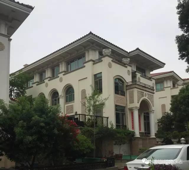 福建泉州副檢察長坐擁千萬別墅被曝光