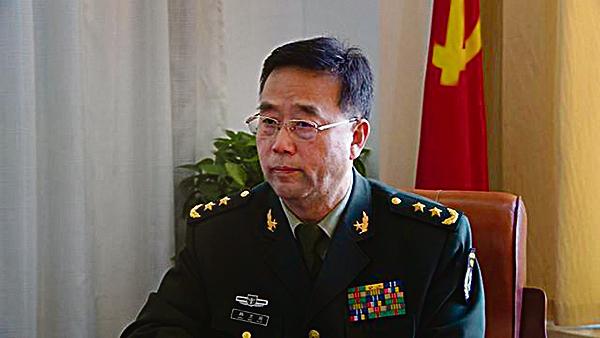 新升任中部戰區司令韓衛國中將。(網絡圖片)