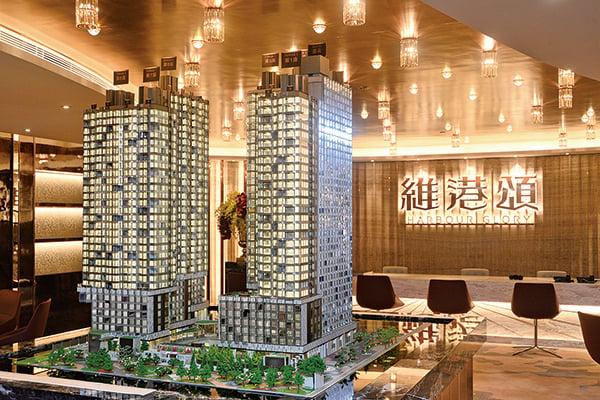 今年第一季度,大陸企業在香港物業市場的投資上升213%,創下歷史新高。(宋碧龍/大紀元)
