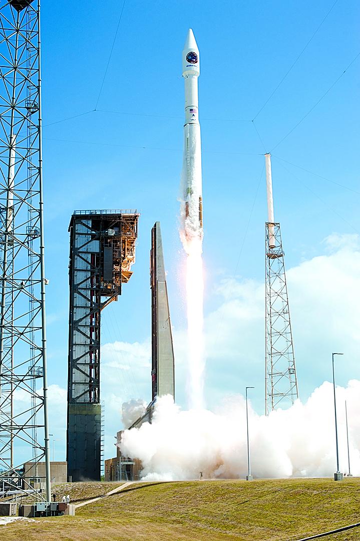 NASA宇宙神火箭成功發射無人飛船