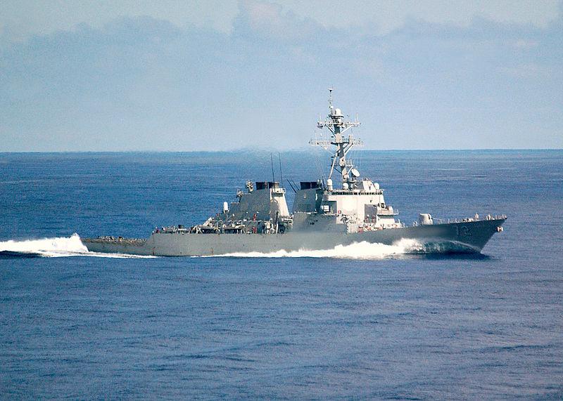 伊朗艦艇再次高速逼近美艦 美軍鳴彈示警