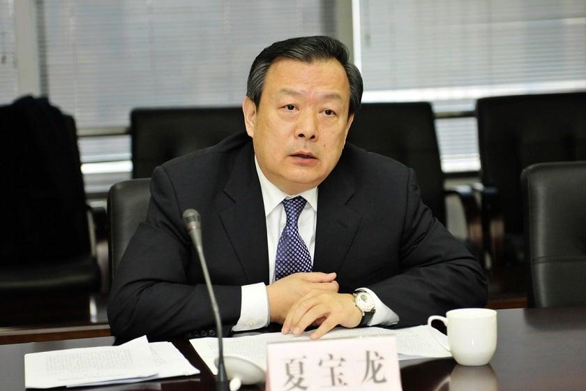 近日有海外消息指,夏寶龍(圖)進京將取代即將退休的中共中央政法委書記孟建柱。(網絡圖片)