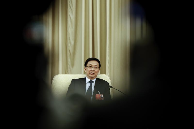 謝天奇:韓正外事活動異常 已被提前架空?