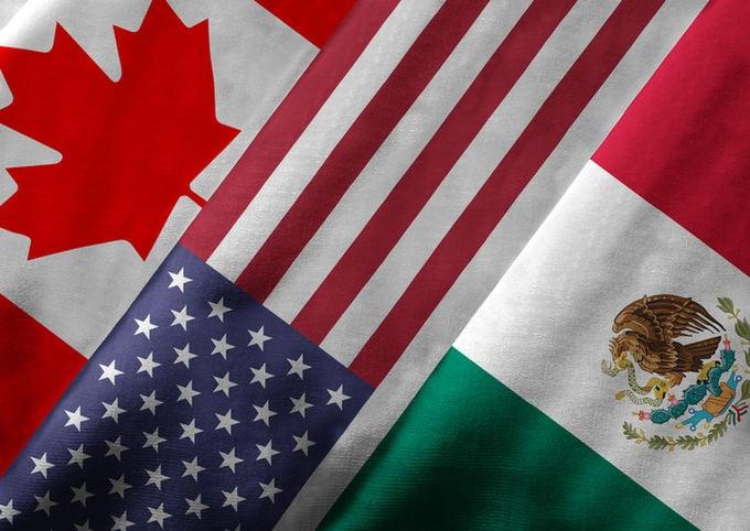 《北美自由貿易協定》(NAFTA)允許貨物及服務在美國、加拿大及墨西哥3國之間自由流動。特朗普去年競選時,多次提到這協定對美國企業和工人不公平,需要重新談判。(iStock)