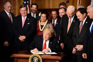 特朗普簽行政令 重審聯邦土地保護規定