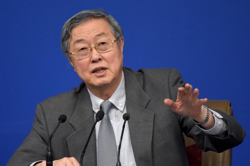 中國人民銀行行長周小川就加強宏觀調控、保障金融安全。圖為周小川資料圖片。(WANG ZHAO/AFP/Getty Images)