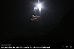 美空軍試射洲際彈道導彈 展示核威懾能力
