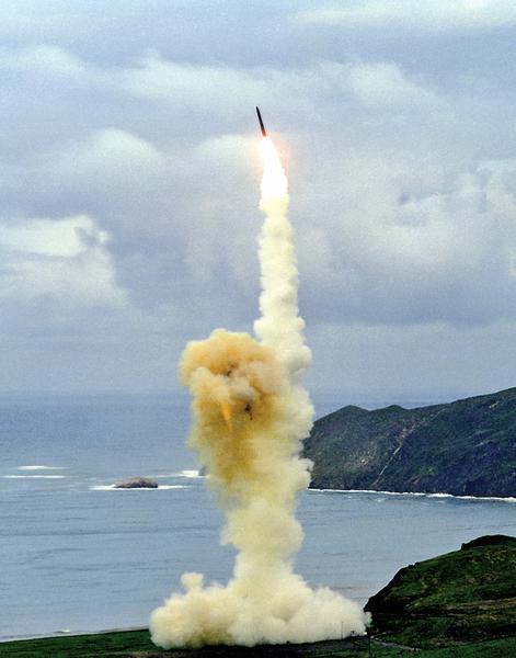 美射導彈展示核威懾能力