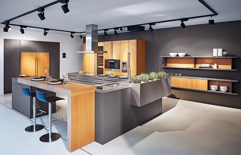 2016年博德寶在廚房的色彩系列中新增了「鑽石灰」。(Poggenpohl)