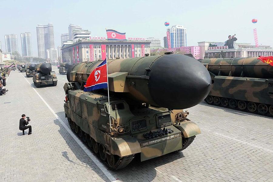 北韓再發射彈道導彈