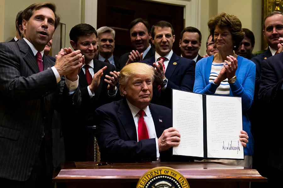 特朗普簽令擴大近海鑽油 實現美能源獨立