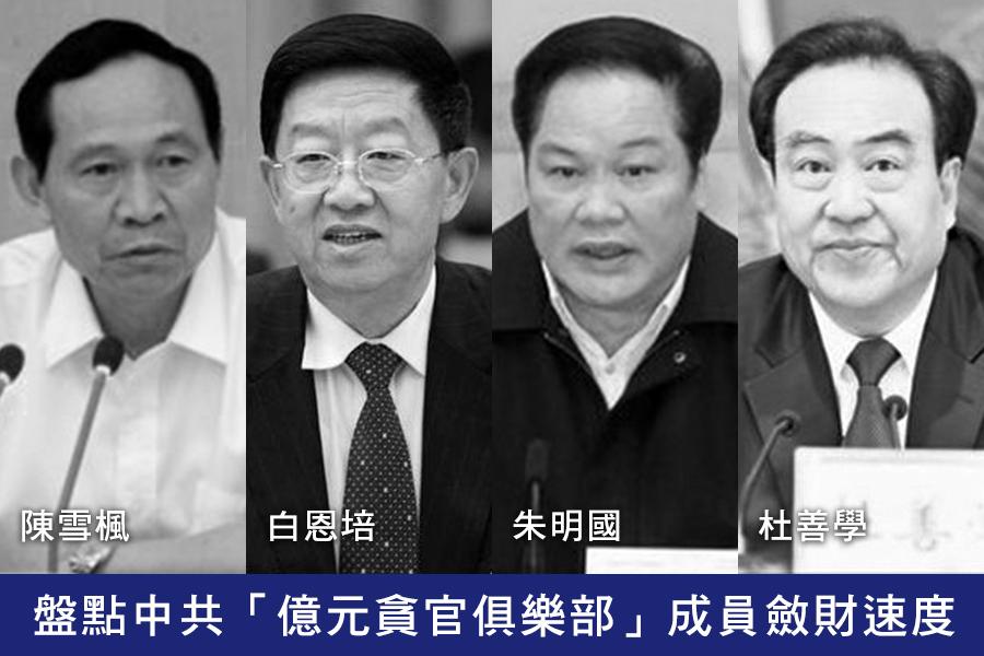 中共河南省委常委、洛陽市委書記陳雪楓(左)已落馬。(網絡圖片)