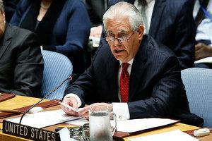 蒂勒森:外國公司若助北韓 將遭二次制裁