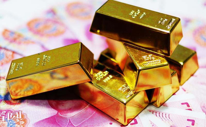 受朝鮮半島局勢影響,中韓兩國對黃金的需求大增。(大紀元資料室)