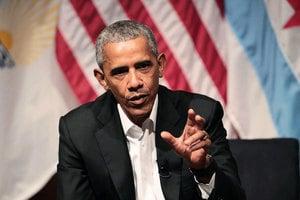 奧巴馬演講酬金高引議員不滿 請特朗普幫忙