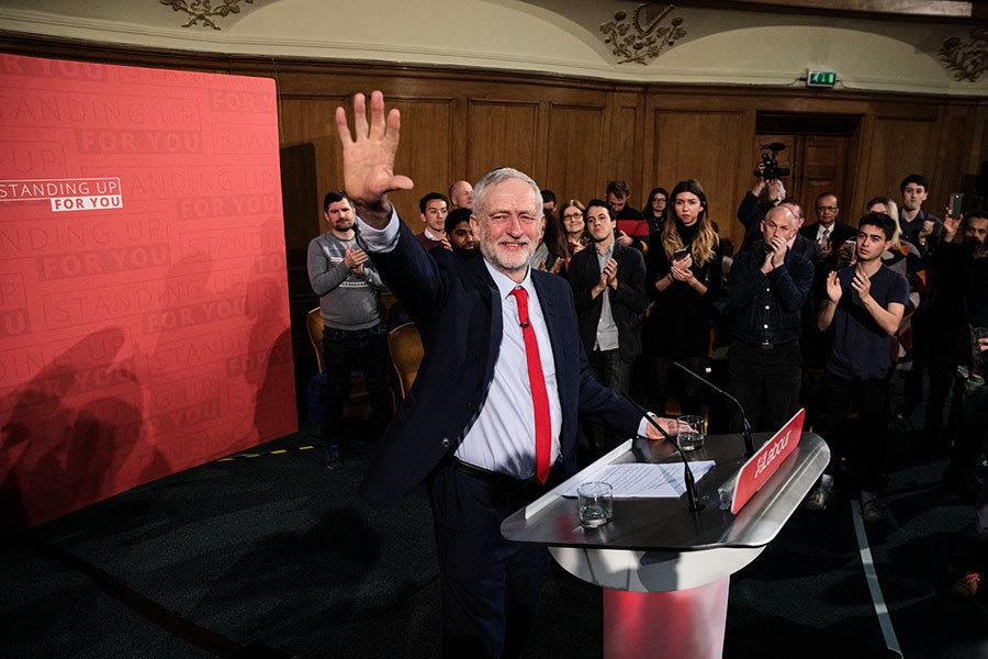 英國大選 工黨承諾取消硬脫歐計劃