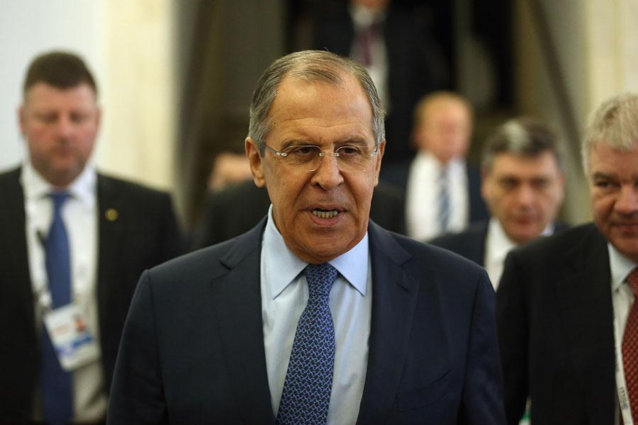 俄羅斯外長拉夫羅夫(Sergei Lavrov)周六(4月29日)表示,莫斯科已準備好與美國合作,解決敘利亞危機。(Johannes Simon/Getty Images)