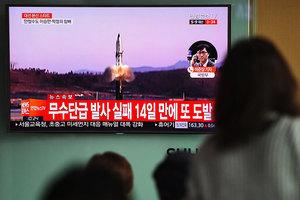 北韓再試射導彈 美官員:金正恩不瘋
