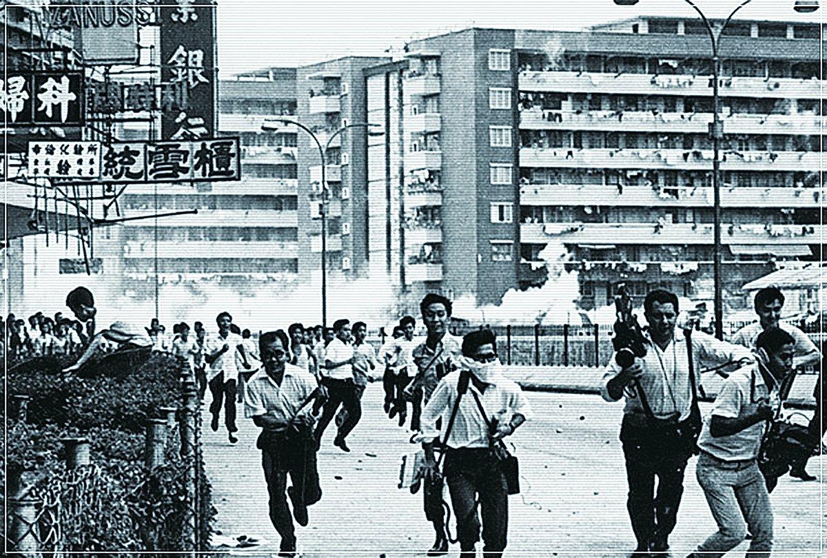 六七暴動期間,左派暴徒在全港放置「土製菠蘿」,隨時奪命、炸掉炸傷肢體。導演羅恩惠說,有些暴徒還會向正在接受治療的傷者再投擲炸彈,欲置人於死地。(網絡圖片)