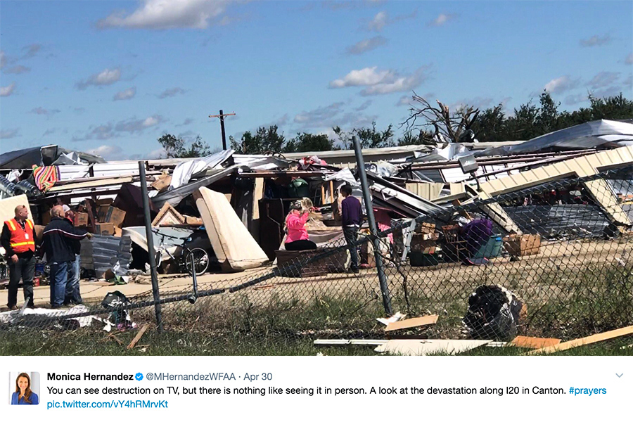 雷暴龍捲風襲美中西部及南部 至少十五人死