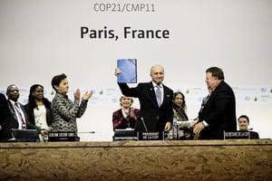 巴黎氣候協議升溫限在攝氏1.5度