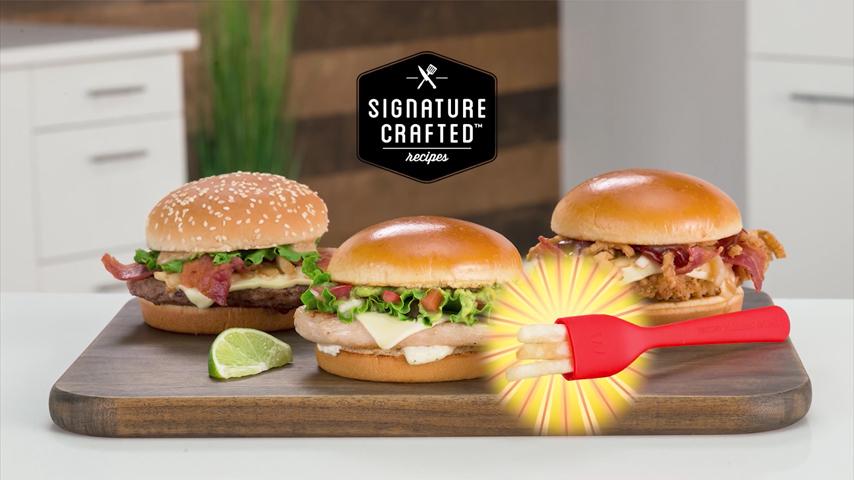 吃漢堡醬汁四濺好尷尬 麥當勞推出薯叉