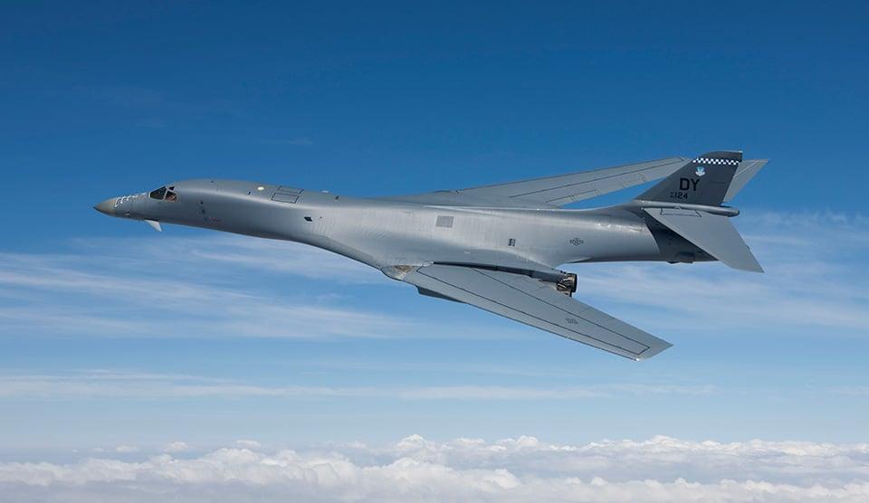 B-1B轟炸機。(Boeing)