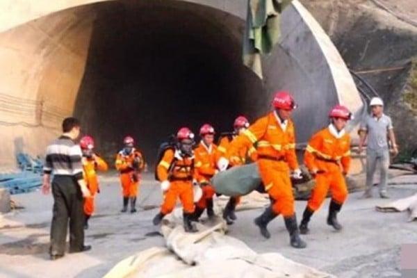 成貴高鐵隧道發生爆炸 十二死十二傷
