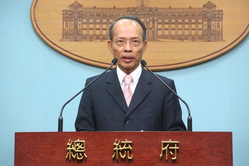 台灣外交部次長侯清山。(中央社檔案照片)