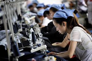 中國PMI降至七個月低點