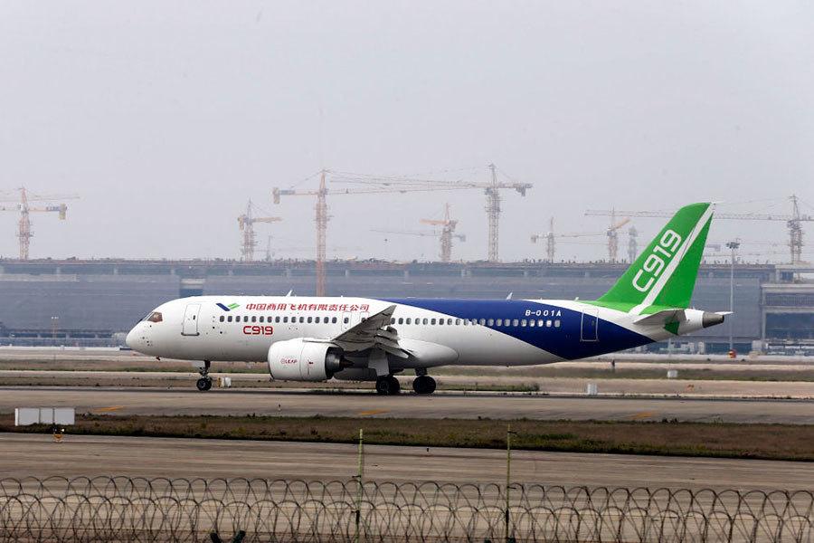 大陸C919首飛 中國製造還是中國組裝?