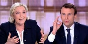 歐元和恐怖主義 法國大選候選人電視激辯