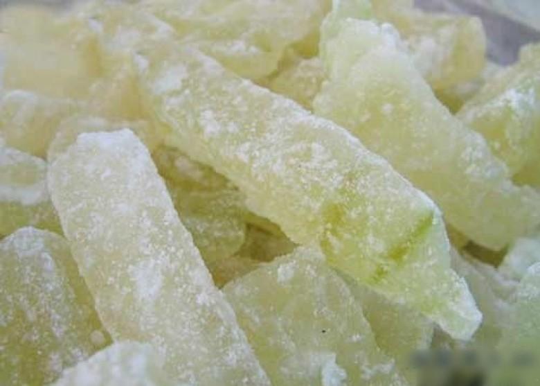 廣州一款糖冬瓜霉菌含量狂超標逾千倍